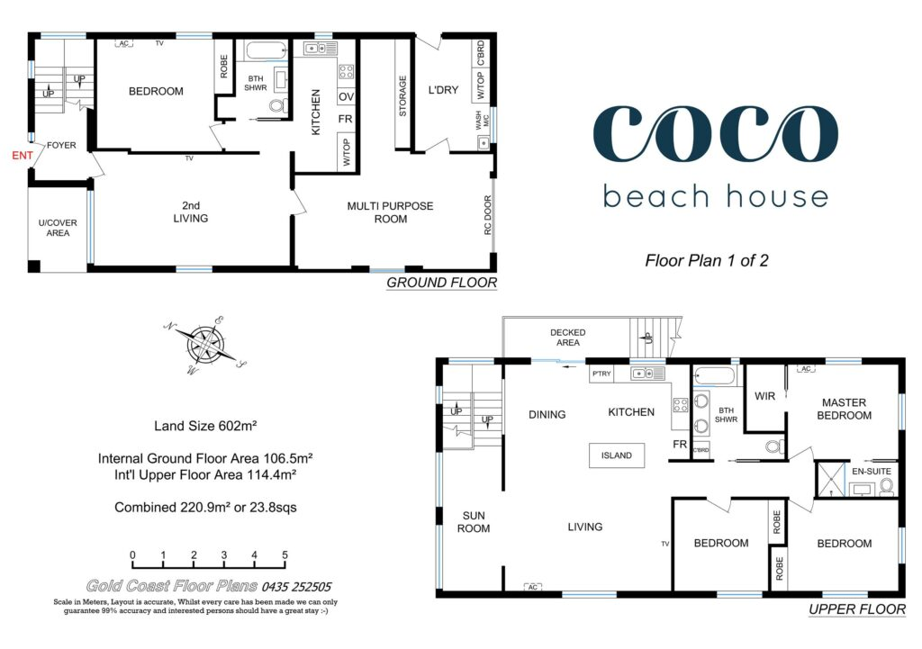 coco beach house palm beach floor plan